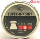 RWS Super H Point Pellets (.22)